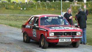 GRAHAM THATCHER   HILLMAN AVENGER RALLY CAR