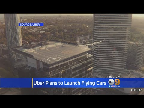 Uber Looks To Bring Flying Cars To LA In 2020