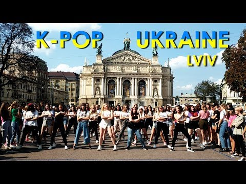 K-POP RANDOM DANCE IN PUBLIC (UKRAINE, LVIV)