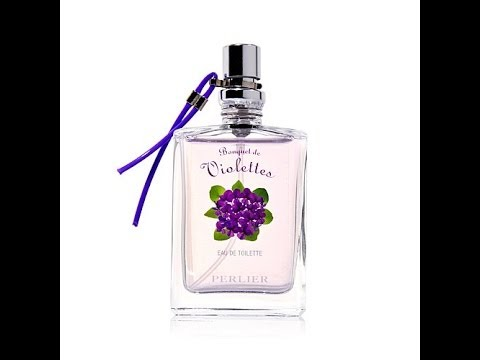 Perlier Violet Bouquet Eau de Toilette Travel Video