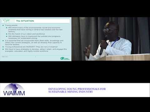 WAIC 2017 Presentation by Dr Reginald Hammah, West Africa Manager, Golder Associates Ltd