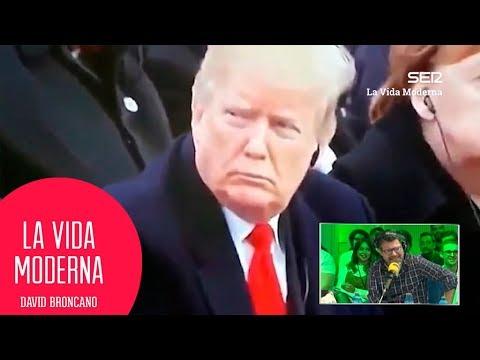 Donald Trump contra el rey de Marruecos por quedarse dormido #LaVidaModerna
