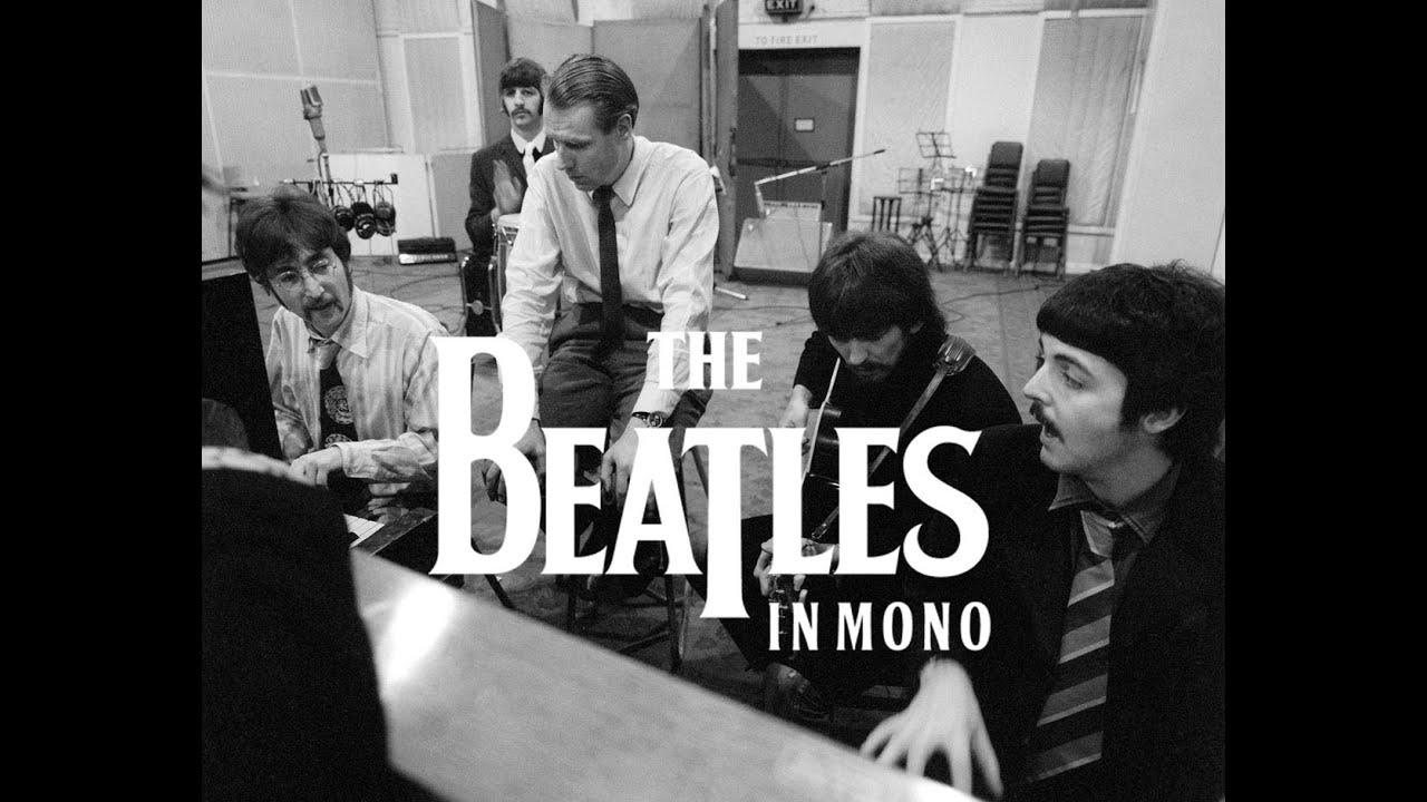THE BEATLES GET BACK TO MONO - THE ORIGINAL MONO STUDIO