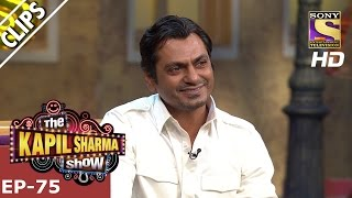 Nawazuddin Siddiqui and Shahrukh Khan on The show  - The Kapil Sharma Show – 21st Jan 2017