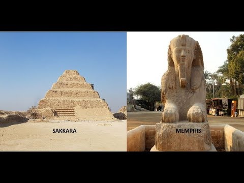 Visit to Sakkara and Memphis   Places Near Cairo  Historical places in Egypt.