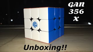 GAN356 X Unboxing!! (Stickerless with Numerical IPG)