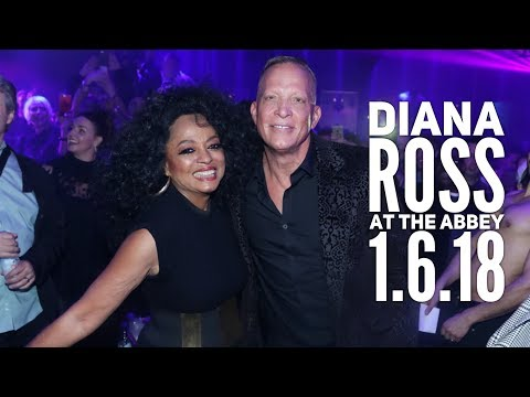 MEMORABLE NIGHT DANCING WITH THE  LEGENDARY DIANA ROSS | THE ABBEY | (2018)
