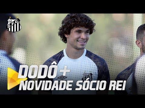 DODÔ + NOVIDADE SÓCIO REI | COLETIVA AO VIVO (04/09/18)