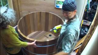 Time lapse hot tub assembly  (long version)