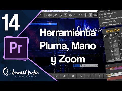 Herramienta - Pluma, Mano y Zoom // Capitulo 14 - Curso Premiere Pro CC