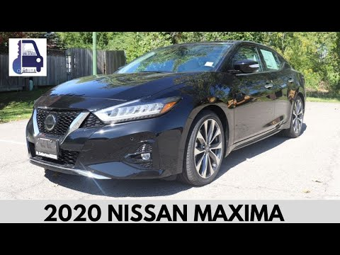 2020 Nissan Maxima Platinum Test Drive and Review