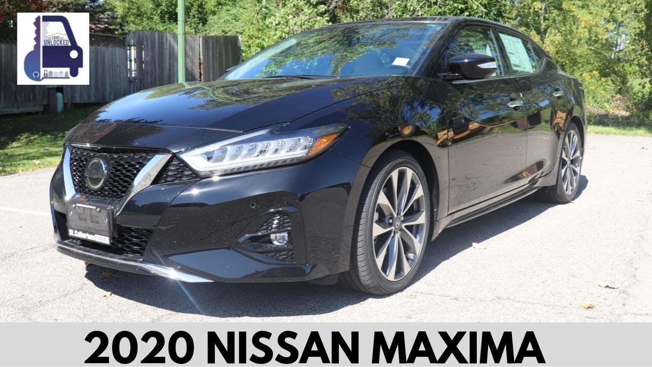 2020 Nissan Maxima Platinum Test Drive And Review Youtube