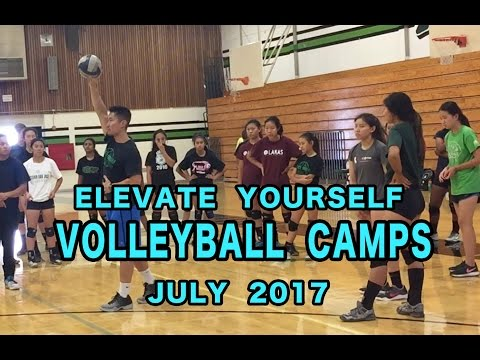 Elevate Yourself VOLLEYBALL CAMPS - July 2017
