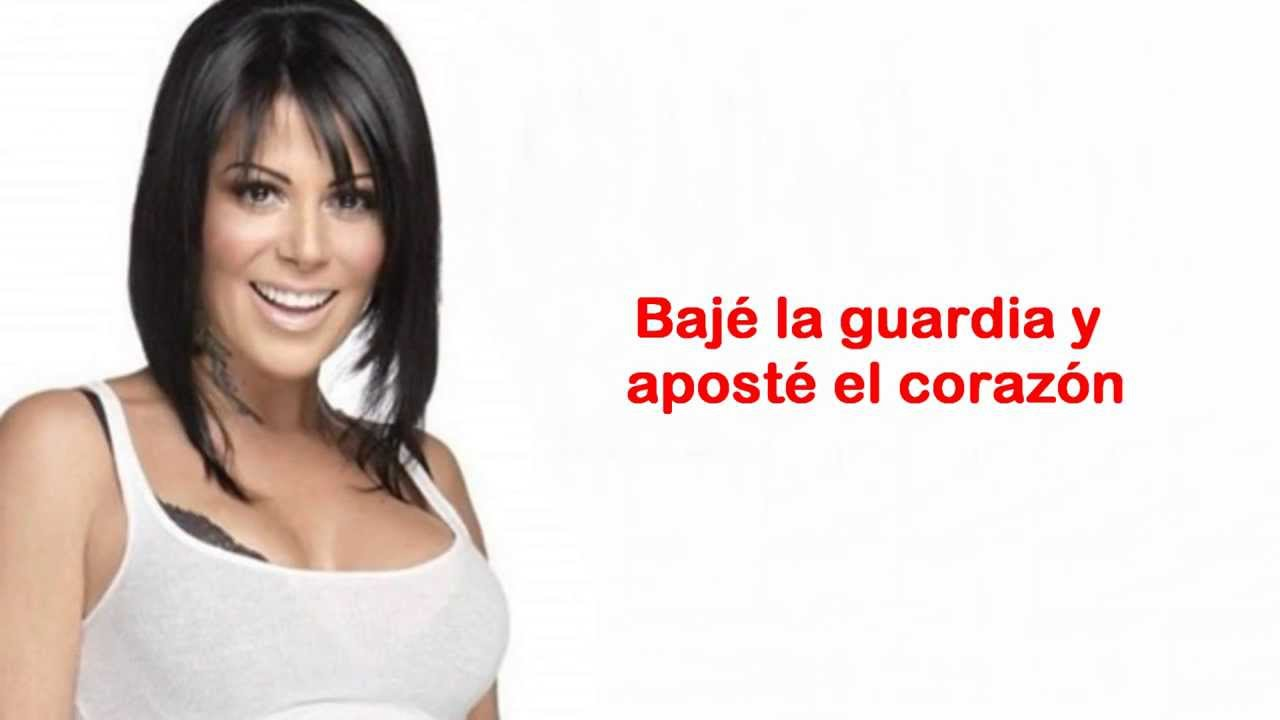 Alejandra Guzm N Mi Peor Error Letra 2013 Youtube