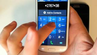 Samsung Galaxy S3 - How to perform a factory data reset : all 3 methods