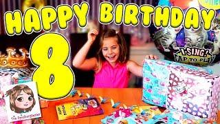 HANNAHS 8. GEBURTSTAG 🎂 Geschenke auspacken ♥ Spielzeugtester Spezial
