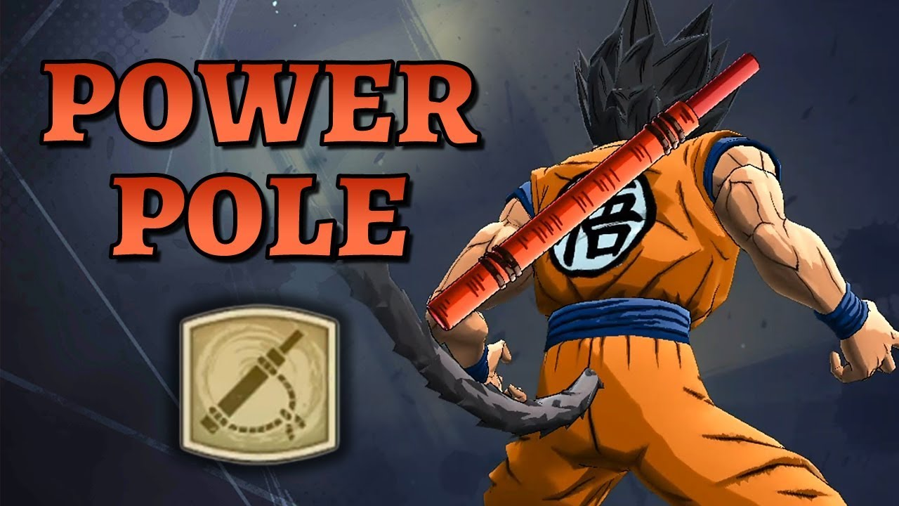 Power Pole Accessory Legends Road Dragon Ball Legends Youtube