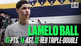 LaMelo Ball GOES OFF For Triple-Double In Spire Win