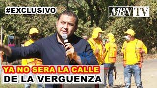 YA NO SERA LA CALLE DE LA VERGUENZA ACLARO EL MINISTRO DE OBRAS PUBLICAS