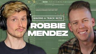 Making a Robbie Mendez Track WITH ROBBIE MENDEZ // Future House Tutorial on FL Studio
