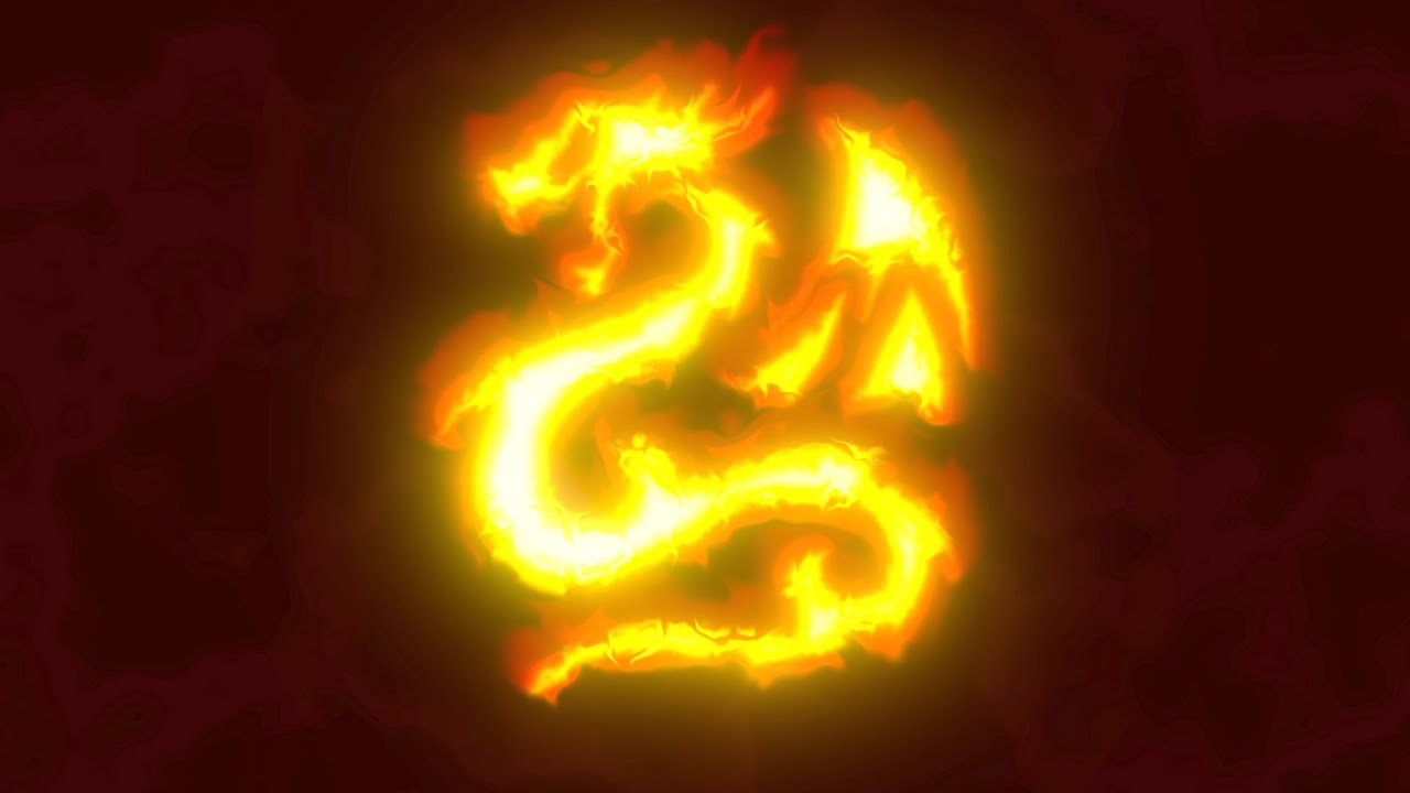 Apple Motion: Fire Dragon Demo