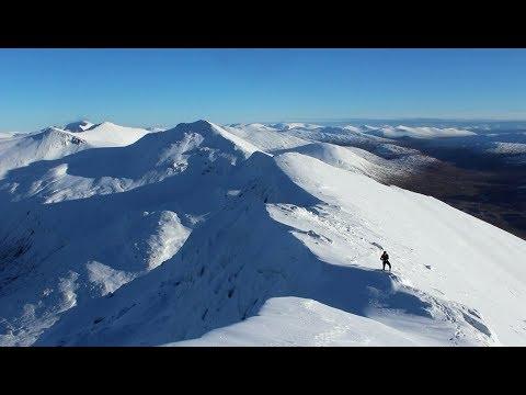 Lochaber Traverse in Winter