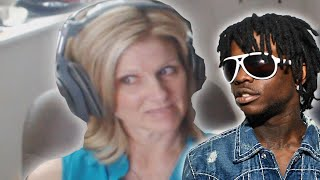 Mom reacts to Chief Keef @ChiefKeef