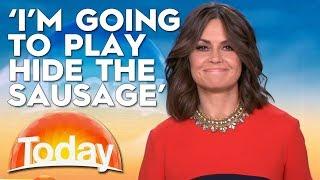 Lisa Plays 'Hide The Sausage' | TODAY Show Australia