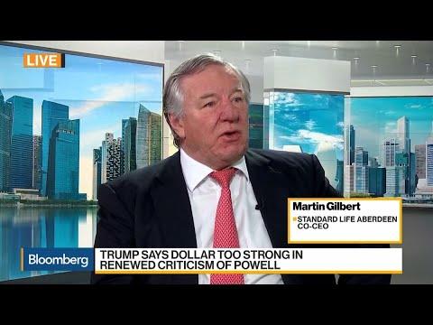 Standard Life Aberdeen's Gilbert on Equities, Trade, Brexit, Business Strategy