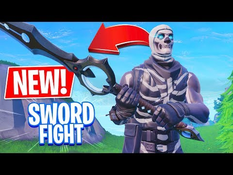 NEW SWORD FIGHT MODE!! (Fortnite Battle Royale Gameplay)