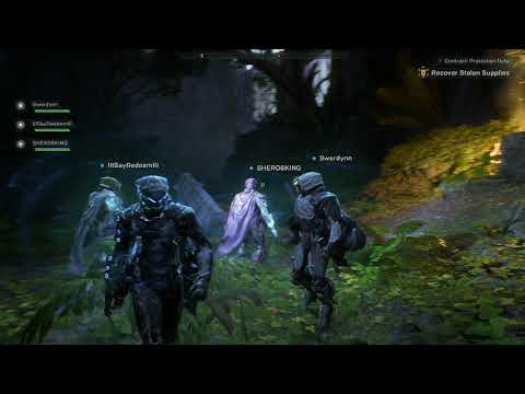 Anthem • 4K U Protection Duty Contract Gameplay • PC
