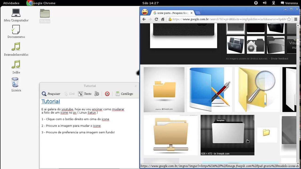 google chrome para linux satux