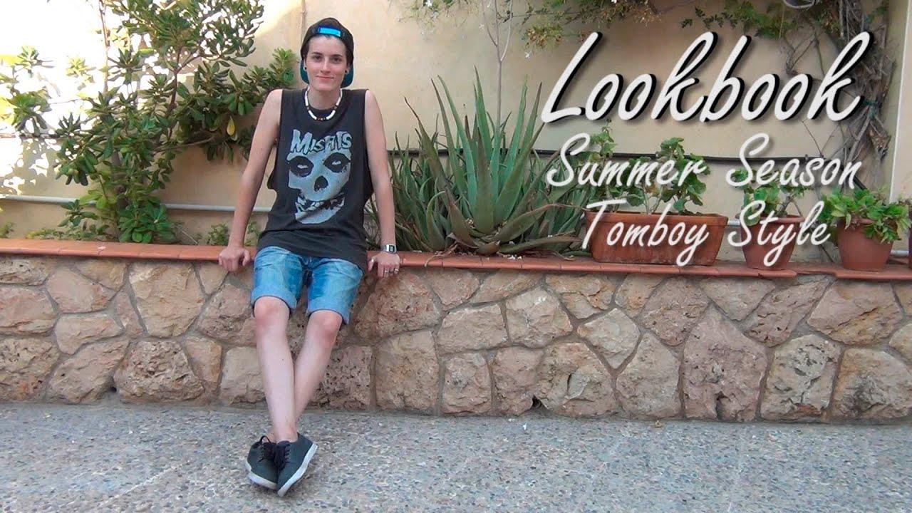 LOOKBOOK1 Summer Tomboy Style