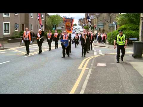 West Calder District 35 Church Parade 7th June 2015