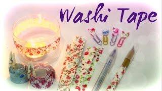 Como fazer Fita Adesiva de Tecido estilo Washi Tape by Carla Fernanda