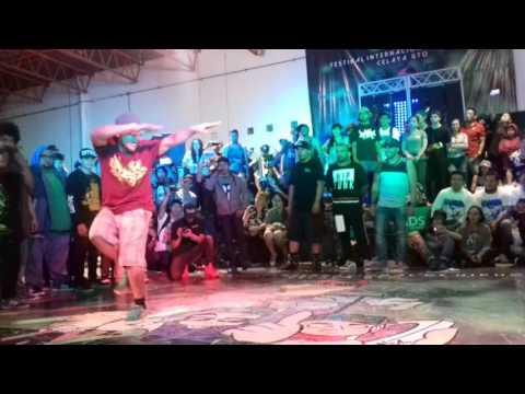 Batalla final Bboy Cirujano vs  Bboy Demian  EL PASTEL 7