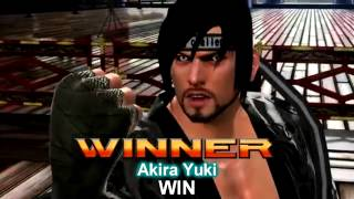 Virtua Fighter 5 Final Showdown - All Intro and Win Poses (No Dural)
