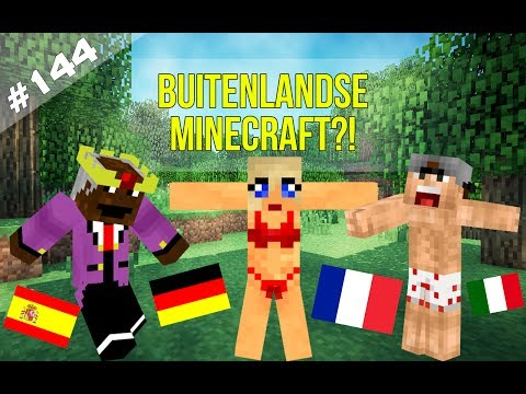 Minecraft Survival #144 - BUITENLANDSE MINECRAFT?!