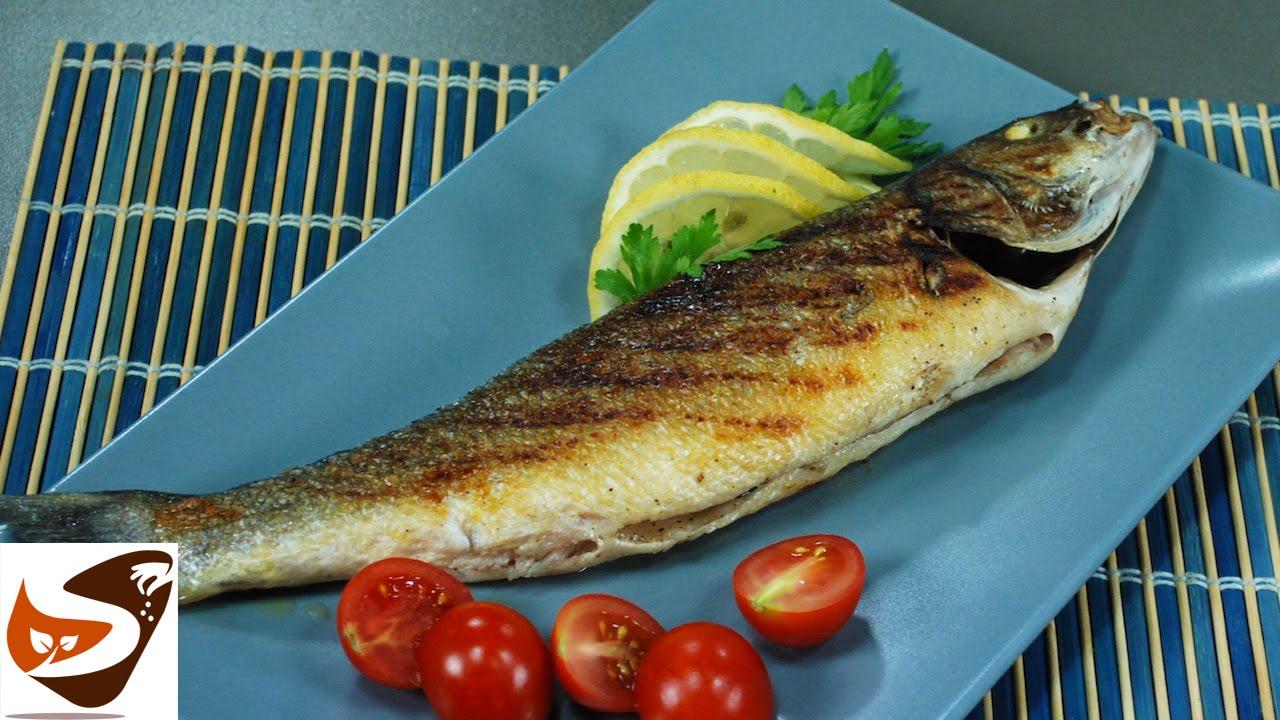 Pesce Alla Griglia Spigola O Branzino E Orata Grigliate Secondi