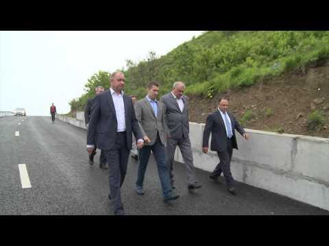 Новую дорогу открыли от Котельникова до Красного Знамени
