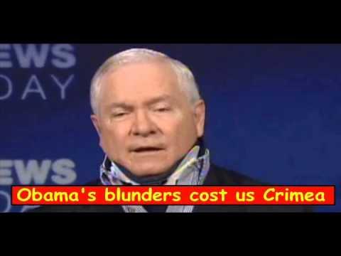 Defense secretary admits Obama lost  Crimea