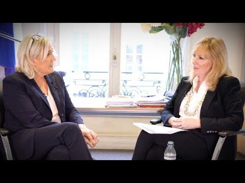 EXCLUSIVE: Marine Le Pen talks about the upcoming European Parliament election and more