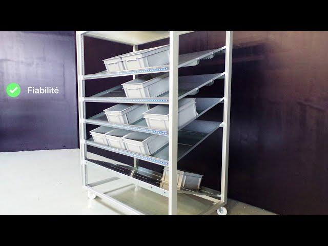 Signature Logistic présente sa gamme de meubles Kanban