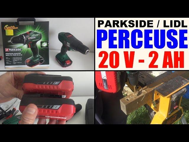 Garden Tools Perceuse Visseuse Parkside Lidl 20v Pabs 20 Li