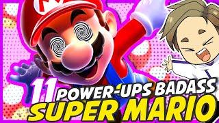 11 POWER-UPS les PLUS BADASS de SUPER MARIO 🍄 | ICONES