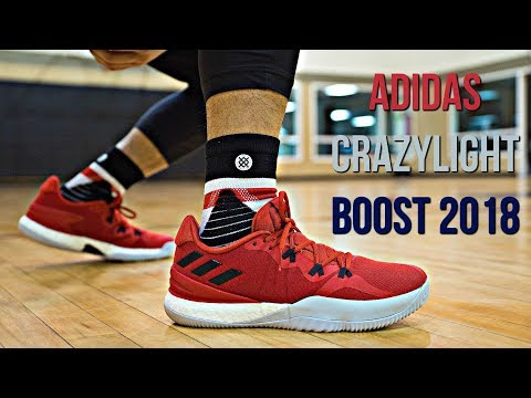 es bonito Cuota forma  Adidas Crazylight Boost 2018 Performance Review! - YouTube