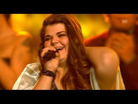 Gewinnerin/The Winner TIZIANA GULINO - Warrior - Finale - The Voice of Switzerland 2014