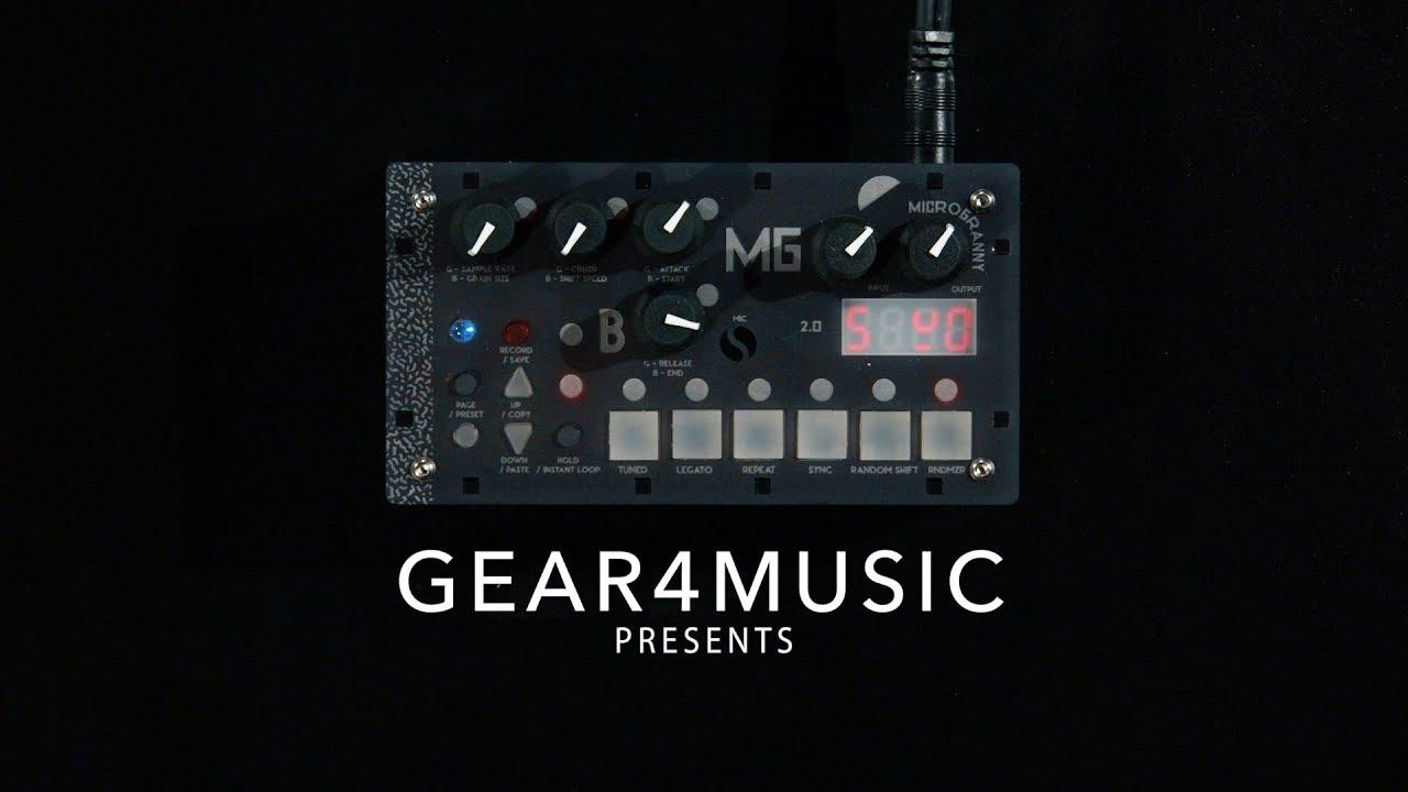 Bastl Instruments MicroGranny Crystal Soulmonofoner Granular Mono-Sampler