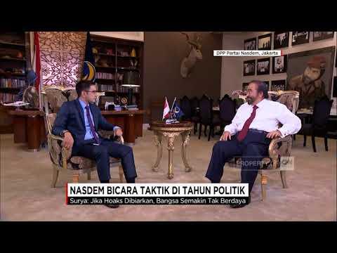 Wawancara CNN Indonesia dengan Ketua Umum NasDem Surya Paloh (segment 3)