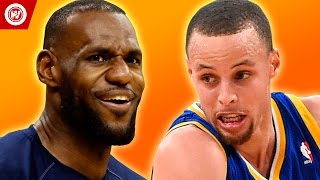 LeBron James & Stephen Curry HIGH SCHOOL Highlights